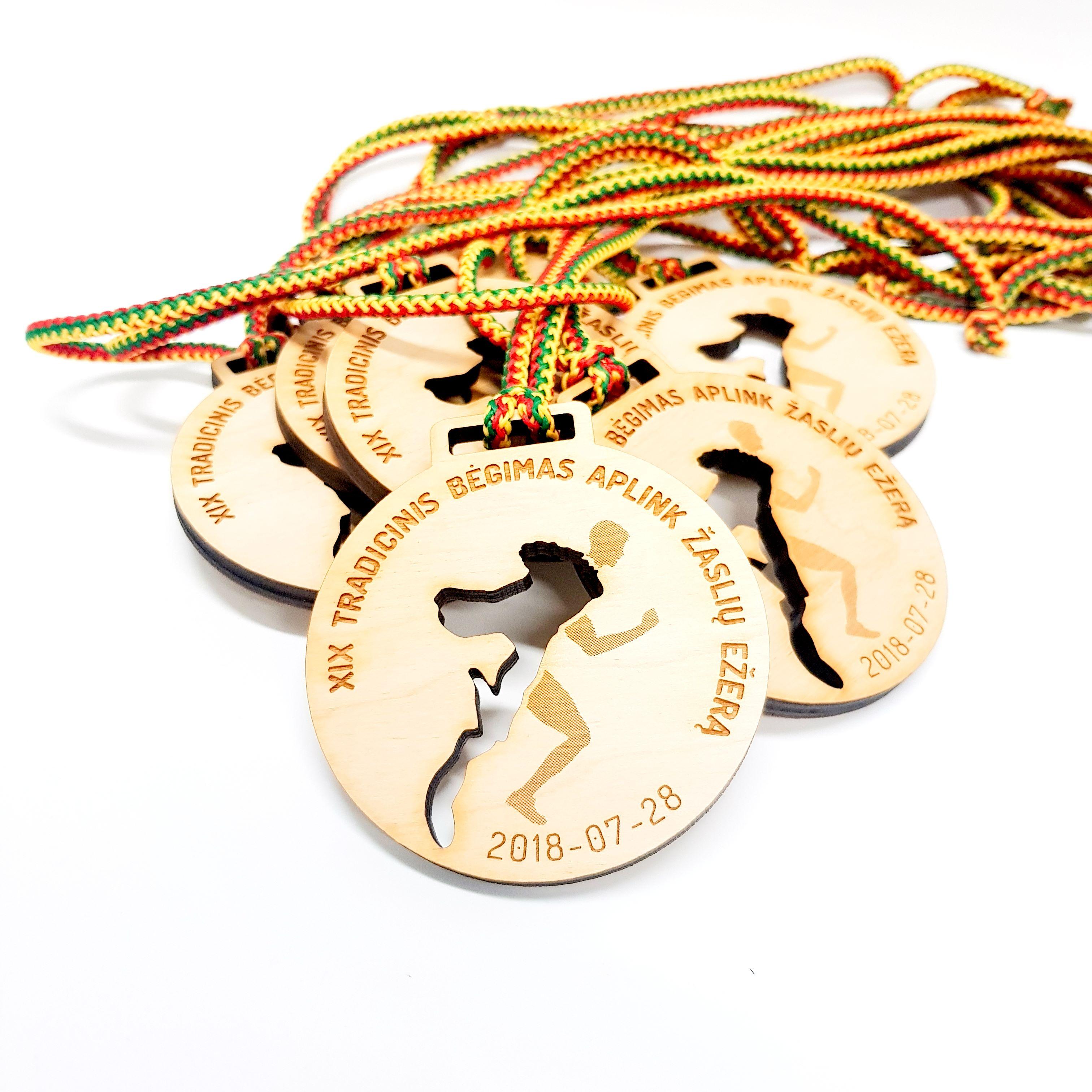 Fanerinis medalis bėgimo varžyboms